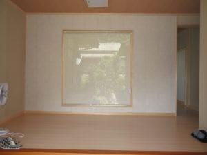 静岡市葵区 H様新築 ロールスクリーン取り付け(ニチベイ 、すだれ調ツヅリ