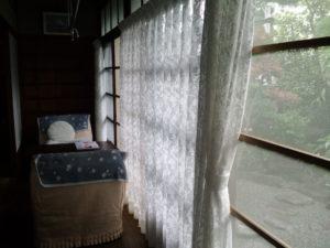 ソファーカバーとレースカーテン取替え川島織物セルコン ウィリアム・モリス デザインのレース